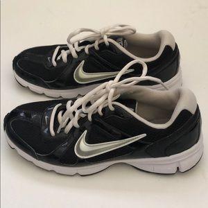 Women's Nike Air Trackstar 3 Black & Silver 7.5